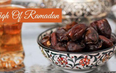 Fiqh of Ramadan 2020