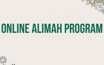 Online Alimah Program