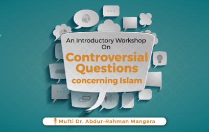Controversial Questions Concerning Islam